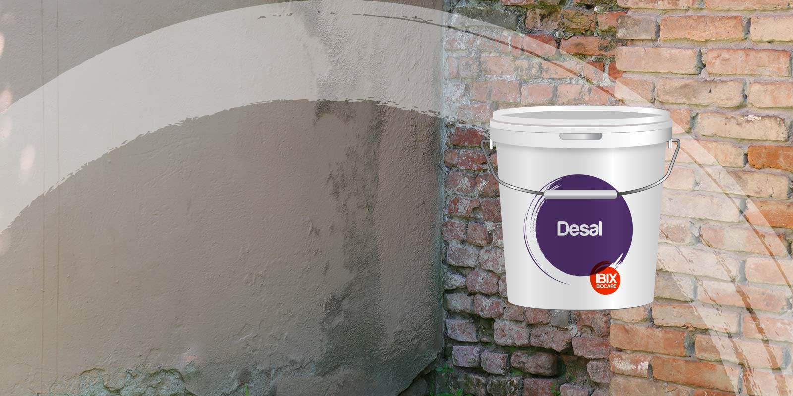 Desal is a salt extractor used in natural and artificial stones.